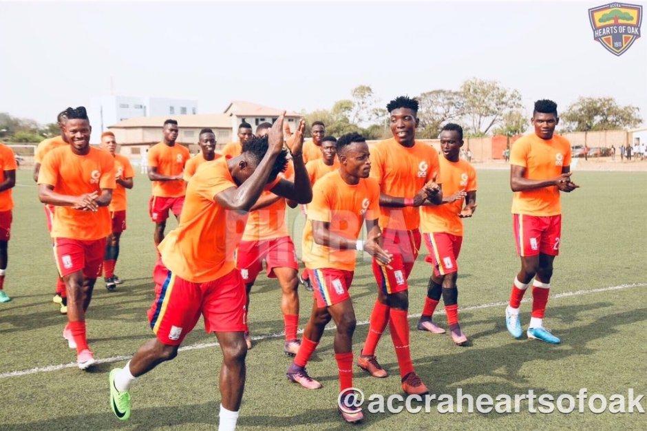 Hearts Of Oak thrash Sekondi Hasaacas in friendly game