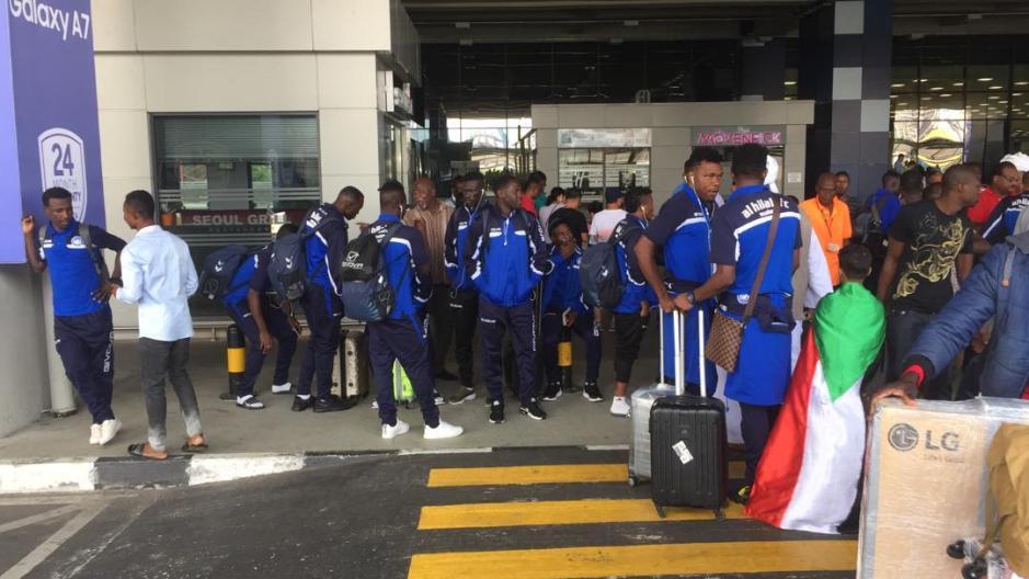Al Hilal arrive to face Kotoko in CAF Confederation Cup match
