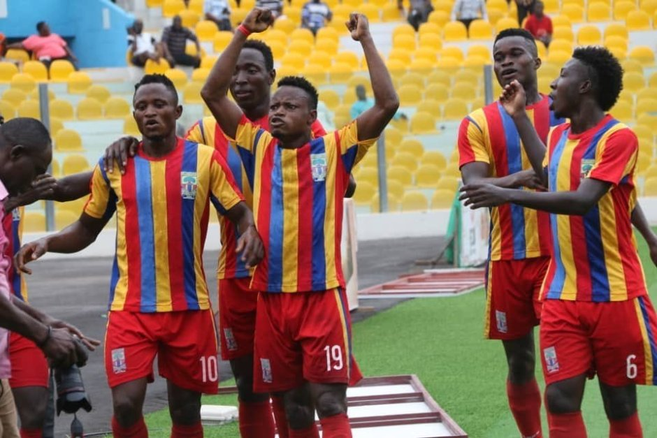 Hearts clinch Abena Agyeiwaa Memorial Cup after beating All Black