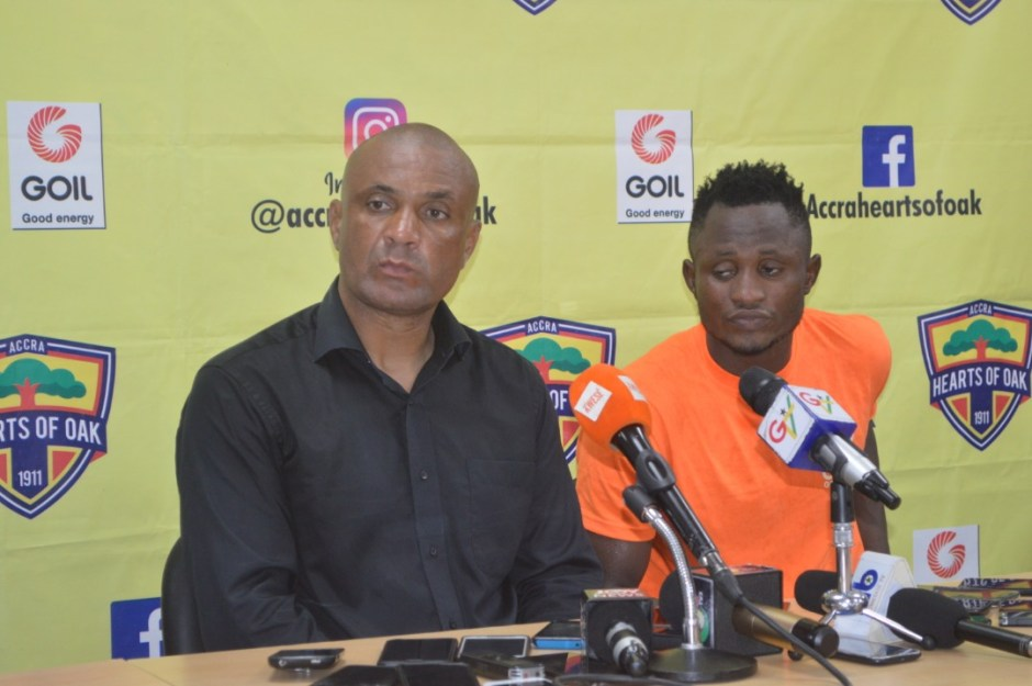 Hearts coach Kim Grant keen on beating Asante Kotoko