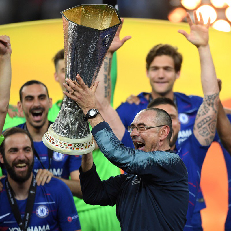 WATCH: Chelsea 4-1 Arsenal | Chelsea win the Europa League Cup