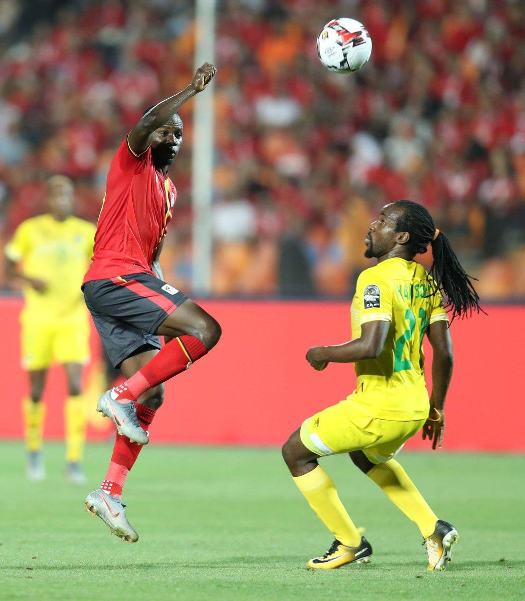 WATCH: AFCON 2019: Uganda 1-1 Zimbabwe   Goals and Highlights