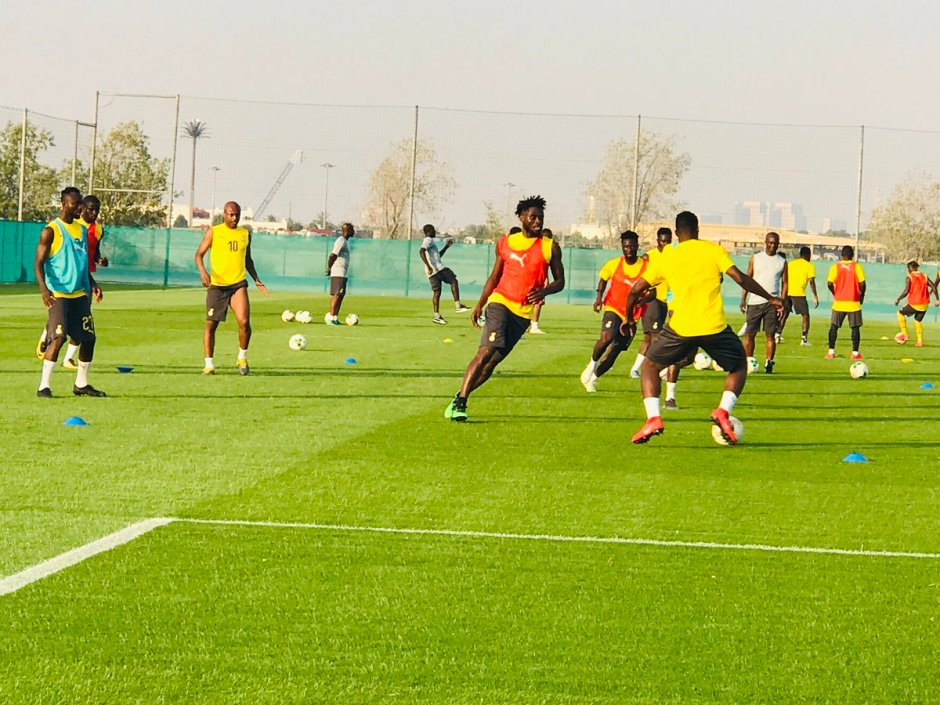 Black Stars starting lineup against Namibia; Abdul Fatawu starts