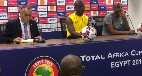 The Black Stars held a presser ahead of their AFCON 2019 opener against Benin in Ismailia