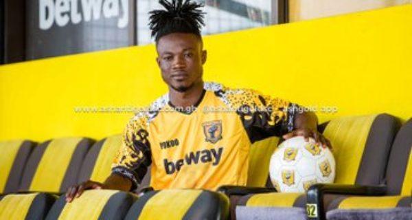 Breaking: Ashantigold sign defender Kwadwo Amoako from Eleven Wonders