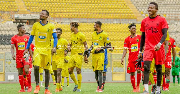 Asante Kotoko resume training after CAF Champions League exit