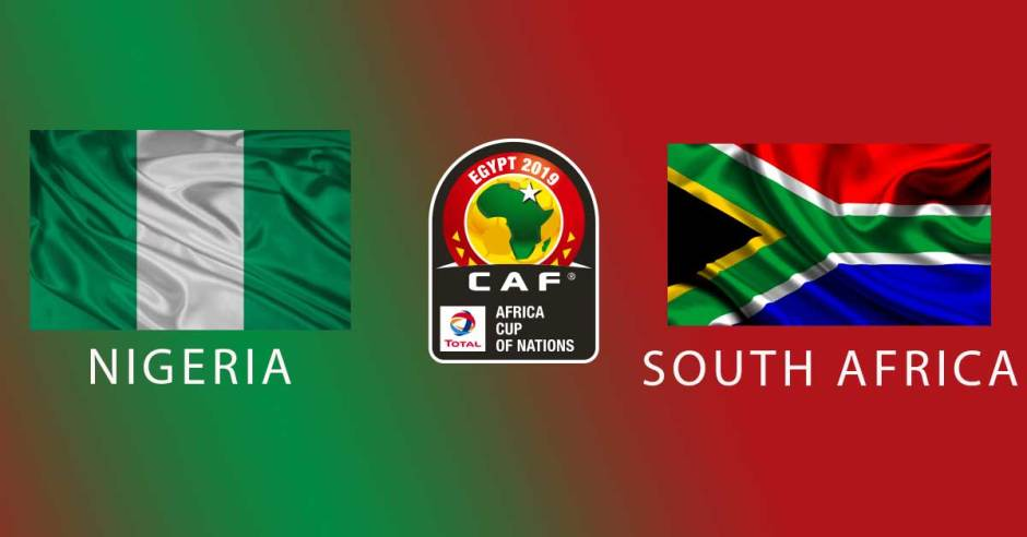 AFCON 2019: Nigeria vs South Africa   Watch Along Live