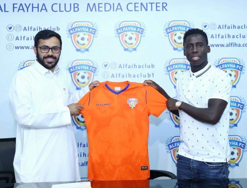 Samuel Owusu completes move to Saudi Arabian side Al-Fayha FC