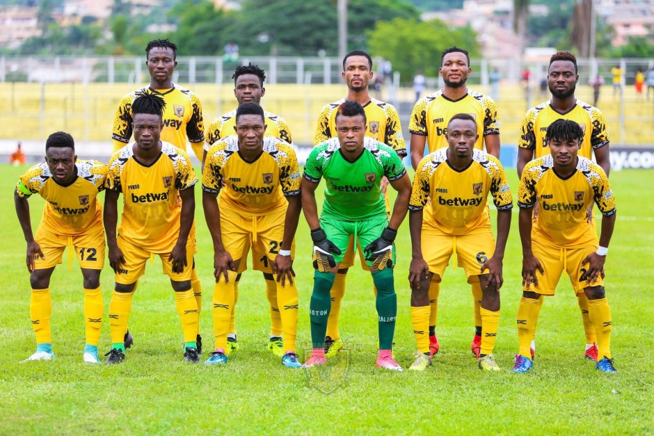 CAF CC: Ashantigold announce 18 players for Berkane trip