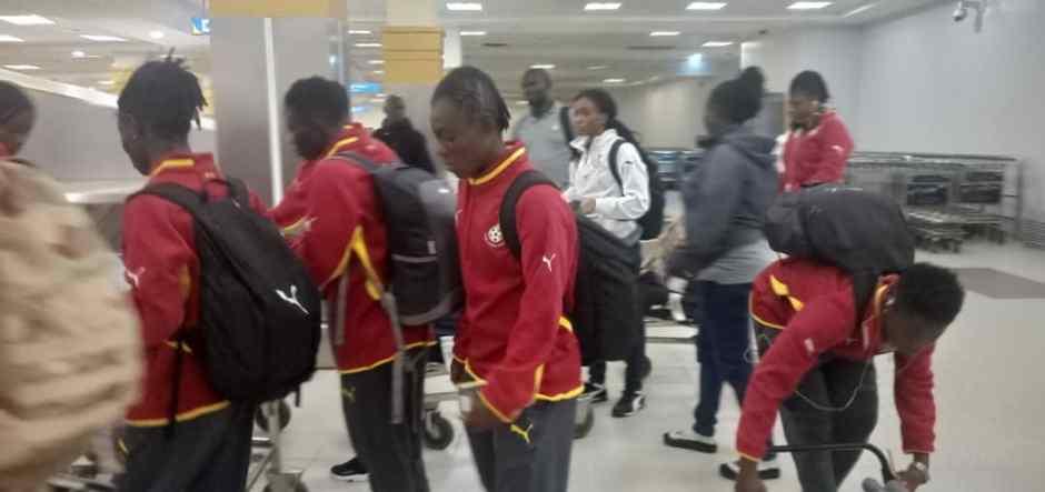 Ghana Black Queens arrive in Kenya for Tokyo 2020 qualifier