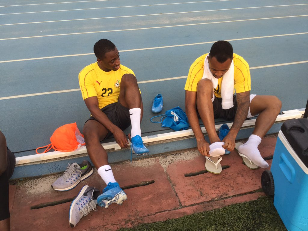 WATCH: Ghana Black Stars first training in Sao Tome ahead of crucial game