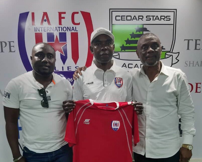 Inter Allies appoint Tony Lokko as new Head coach