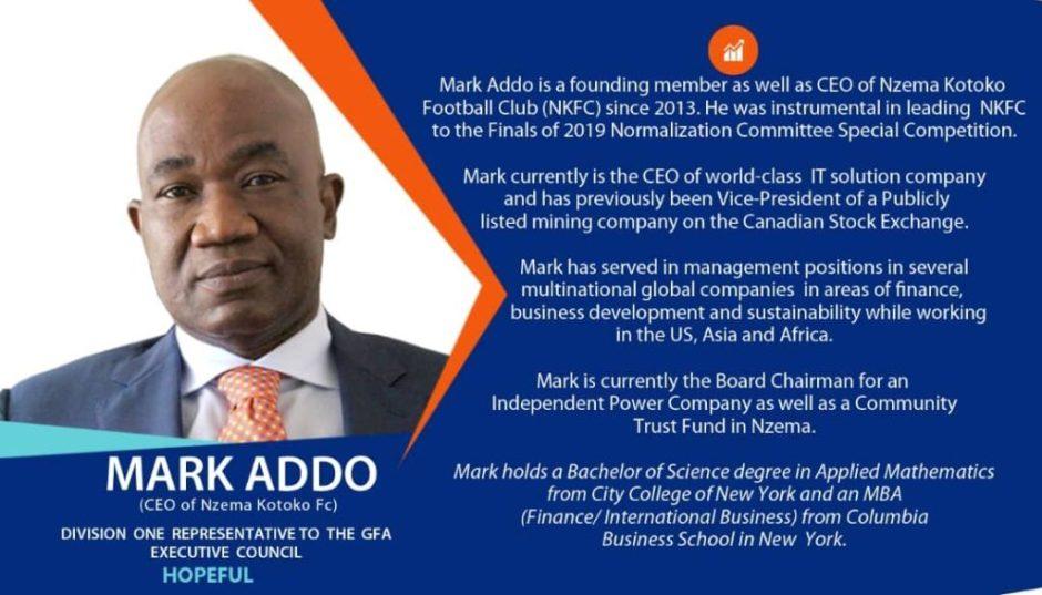 Profile of Mark Addo - the new Ghana FA Vice-President