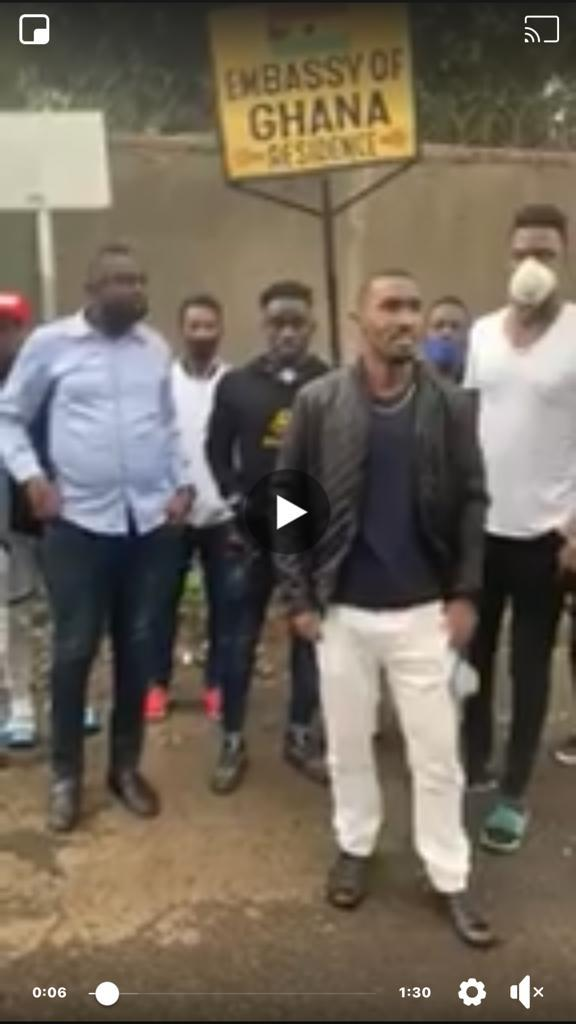 Names of the 22 Ghanaian players stranded in Ethiopia