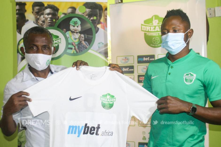 Joseph Esso divides opinions with move to Dreams FC