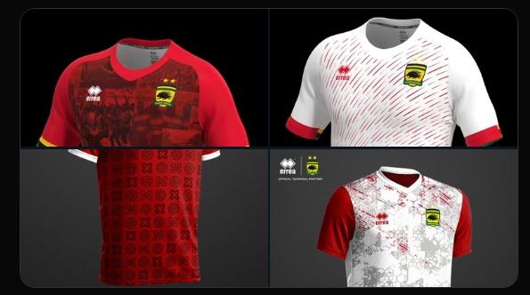 Fans to select the new Asante Kotoko kit