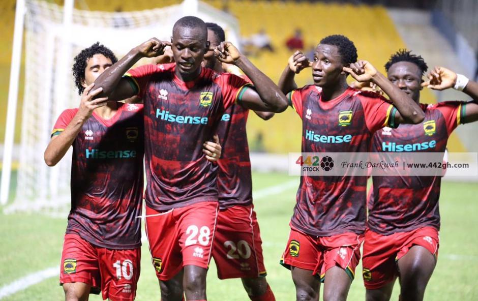 Asante Kotoko 18-man squad for Legon Cities clash
