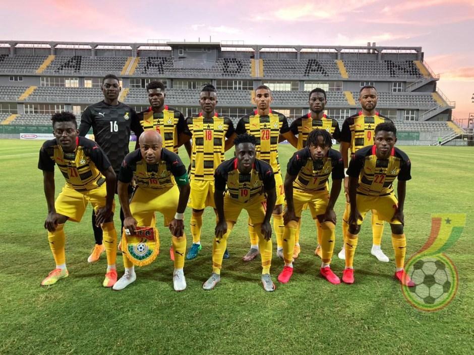 Ghana Black Stars squad for friendlies against Morocco and Ivory Coast