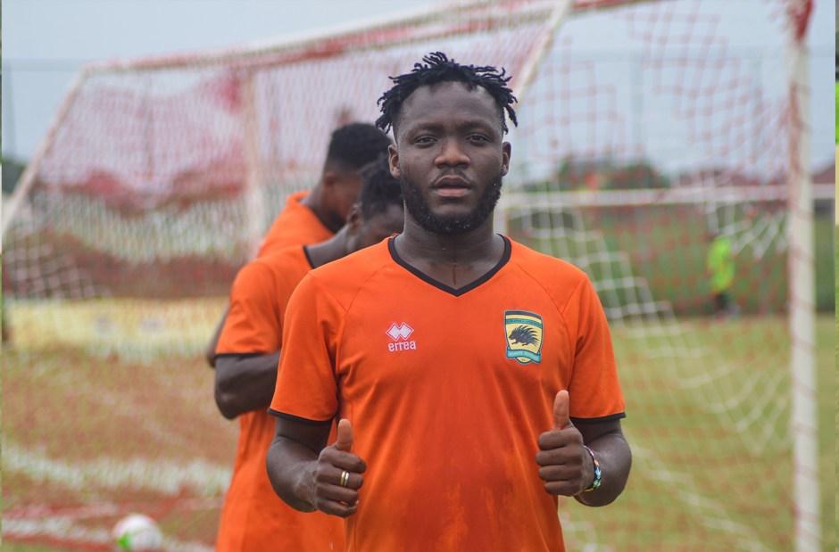 Midfield boost as Emmanuel Sarkodie returns to Kotoko training