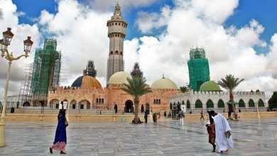 مسجد مدينة طوبى، أكبر مسجد في السنغال