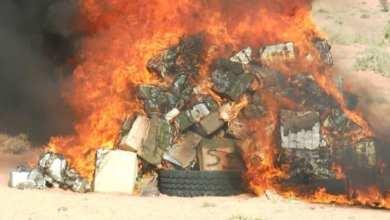 Photo of تمبدغه.. إتلاف 17 طنا من المواد منتهية الصلاحية