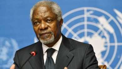 Photo of وفاة الأمين العام الأسبق للأمم المتحدة كوفي عنان
