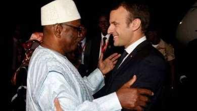 Photo of الرئيس الفرنسي يهنئ «كيتا» على فوزه في رئاسيات مالي