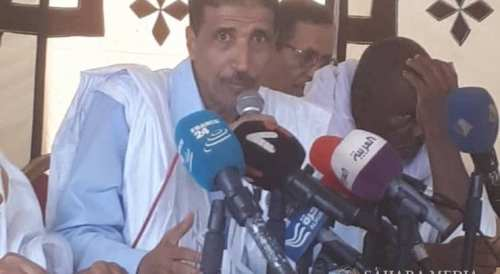 محمد ولد مولود، الرئيس الدوري لمنتدى المعارضة