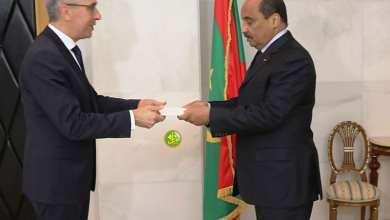 Photo of موريتانيا.. الرئيس يتسلم اعتماد عدد من السفراء الجدد
