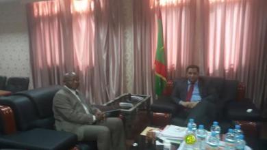 Photo of وزير الاقتصاد يلتقي ممثل النقد الدولي بموريتانيا