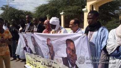 Photo of متظاهرون وسط نواكشوط يشكرون «ترامب»