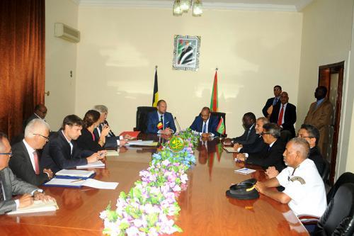 توقيع الاتفاق الجديد بين موريتانيا وبلجيكا في مقر وزارة الداخلية الموريتانية (و م أ)