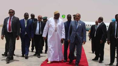 Photo of الرئيس الغامبي يبدأ زيارة رسمية لموريتانيا
