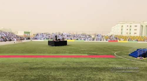سجاد أحمر في انتظار ولد الغزواني (صحراء ميديا)
