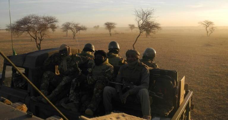 أرشيف- جنود ماليين من قوات مجموعة الساحل (أ ف ب)