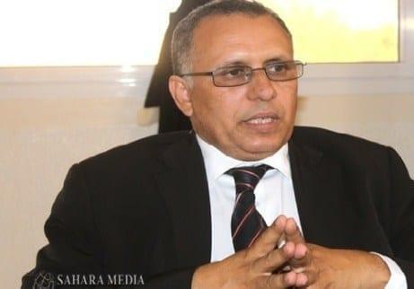 أحمد سالم واد بوحبيني، رئيس اللجنة الوطنية لحقوق الإنسان