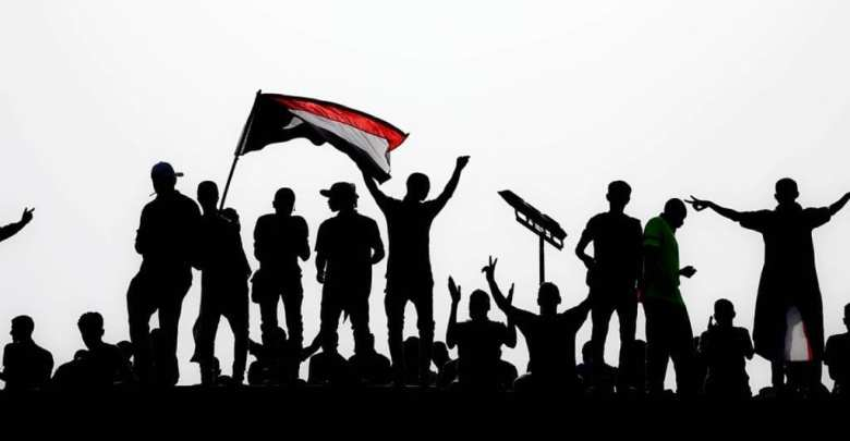 متظاهرون سودانيون، محمود حجاج / وكالة الأناضول