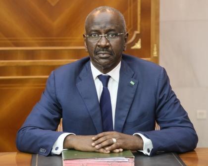 وزير الداخلية الموريتاني محمد سالم ولد مرزوق