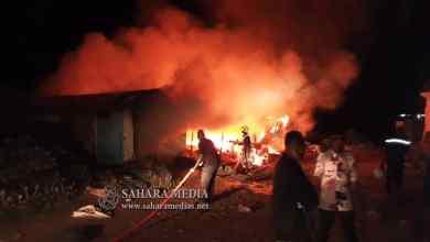 """Photo of موريتانيا.. حريق في """"مخزن ذخيرة"""" بإدارة الأمن"""