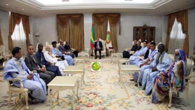 Photo of ولد الغزواني يلتقي المكتب التنفيذي لأدباء موريتانيا