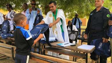 Photo of شنقيتل تبدأ عملية توزيع الحقائب المدرسية