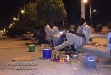 Photo of هكذا يقضي الطلاب لياليهم أمام وزارة التعليم العالي (صور وفيديو)