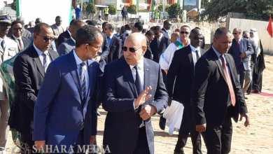 Photo of بالصور.. غزواني يطلق أشغال تشييد مقر جديد للبرلمان