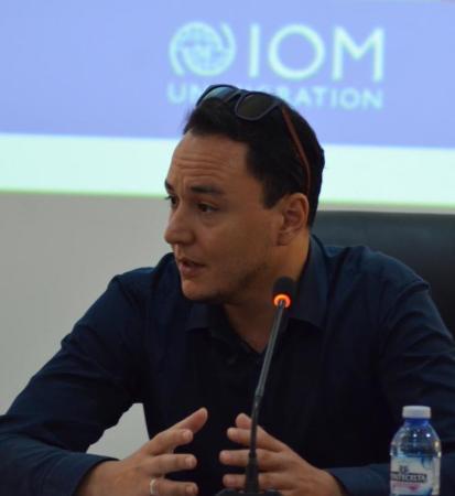 مهدي رحماني، مسؤول مكتب منظمة الأمم المتحدة للهجرة في نواذيبو