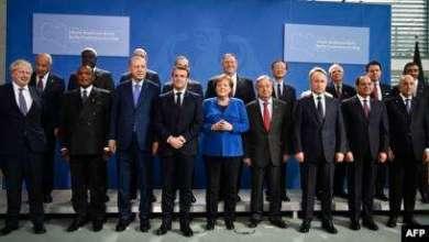Photo of انطلاق القمة الدولية حول ليبيا في برلين