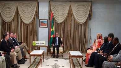 Photo of الرئيس الموريتاني يستقبلُ وفدا من الكونغرس الأميركي