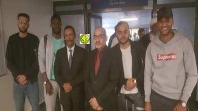 "Photo of وصول طلاب ""خوبي"" لانواكشوط بعد نهاية حجزهم"