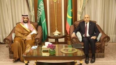 """Photo of """"غزواني"""" يجري مباحثات مع ولي العهد السعودي"""