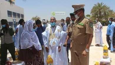 Photo of الدرك يوزع مساعدات غذائية على أرامل الشهداء و ضباط الصف والدركيين