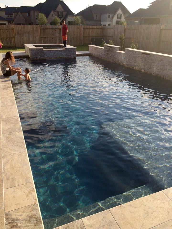 Sears Swimming Pool  Katy Texas Pool Builder  Sahara Pools Katy TX